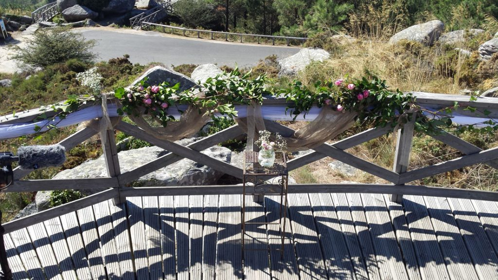 Altar de la ceremonia